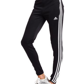 cdeb821ef8994 adidas Women's Tiro 11 Training Pant (Black, White, X-Large)