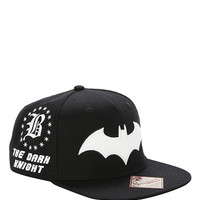DC Comics Batman Embroidered Snapback Hat
