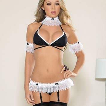 """Super Sexy French Maid"" Set"