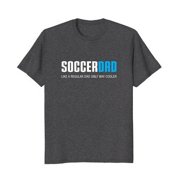 Mens Soccer Dad Shirt- Funny Cute Father's Day Gift
