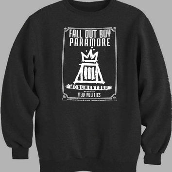 Fall Out Boy Paramore Monumentour Sweater for Mens Sweater and Womens Sweater ***