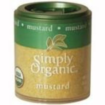 Simply Organic Mini Ground Mustard Seed (6x.46 Oz)