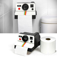 POLAROLL CAMERA TOILET PAPER HOLDER