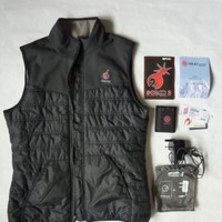 RipCurl S Bomb Heated Vest Women Large Worn Twice Indoors