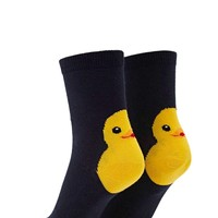 Chick Graphic Crew Socks