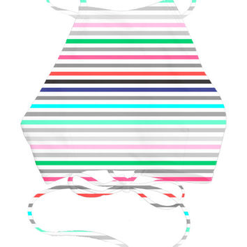 Kovey - Bay Bikini Top in Summer Stripes