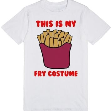 THIS IS MY FRENCH FRY COSTUME