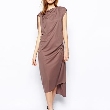 ASOS Shift Dress With Drape