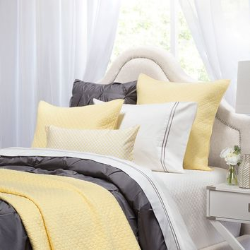 The Cloud Yellow Quilt & Sham