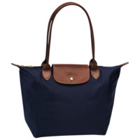 Small tote bag - Le Pliage - Handbags - Longchamp - Navy - Longchamp United-States