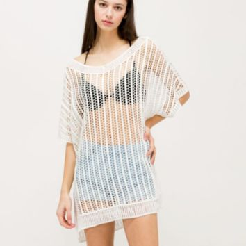 The Maric Macrame Top Resort Ready
