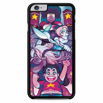 The Crystal Gems Amethyst Pearl And Steven iPhone 6 Plus / 6S Plus Case