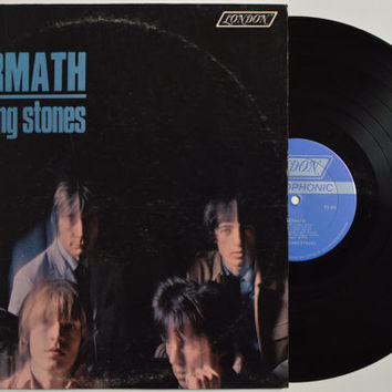 """THE ROLLING STONES - """"Aftermath"""" vinyl record"""