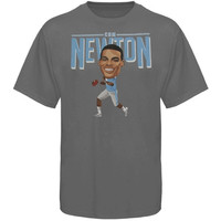 Cam Newton Carolina Panthers Player Tri-Blend T-Shirt - Ash