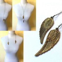 Angel Wings long necklace