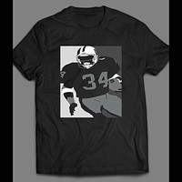 BO JACKSON CUSTOM ART PRINT T-SHIRT