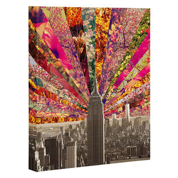 Bianca Green Blooming NY Art Canvas
