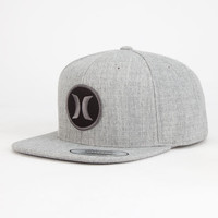 Hurley Monarch Mens Snapback Hat Gray One Size For Men 25933011501