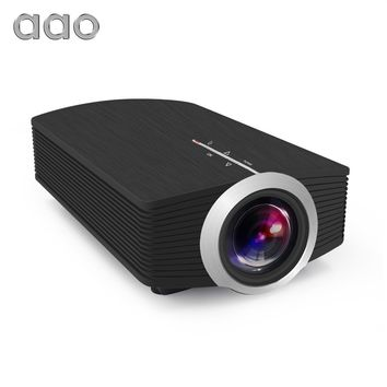 YG510 Mini Projector 1080P 1800Lumen Portable LCD LED Projector Home Cinema USB HDMI 3D Beamer Bass Speaker