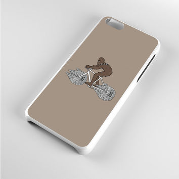 Chewbacca Biking Star Wars Ilustration iPhone 5c Case