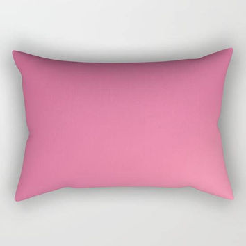 Pink Rectangular Pillow, Pink Throw Pillow, Pink Bedroom Decor, Hot Pink Pillows, Pink Toss Pillow, Pretty Pink Accent Pillow, Pink Decor