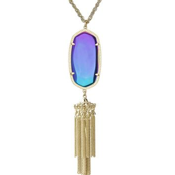 Rayne Necklace in Black Iridescent - Kendra Scott Jewelry