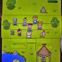 Earthbound Super Nintendo - SNES - Customized