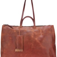 Marsèll Distressed Leather Tote