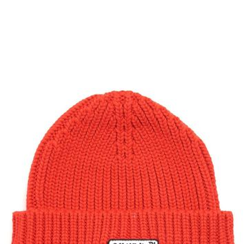 Orange Beanie by OFF-WHITE