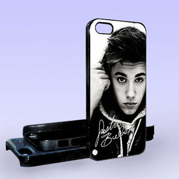 Justin Bieber Hansome And Sexy - Print on Hard Cover - iPhone 5 Case - iPhone 4/4s Case - Samsung Galaxy S3 case - Samsung Galaxy S4 case