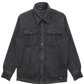 Raised By Wolves - Nelson Overshirt (Heather Charcoal)