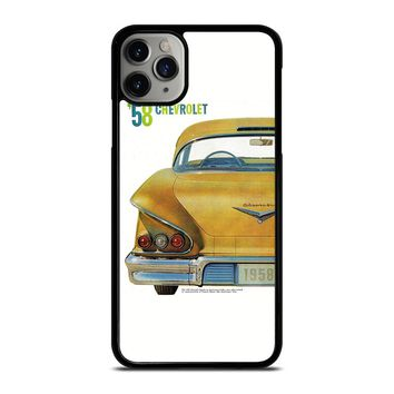 CHEVY CHEVROLET RETRO POSTER iPhone Case Cover