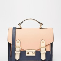 ASOS Blocked Satchel Bag