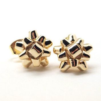 Wrap Me Up Bow Studs