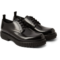 Valentino - Studded Leather Derby Shoes | MR PORTER