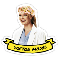 Greys Anatomy - Doctor Model Sticker