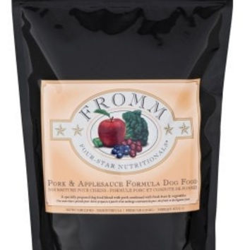FROMM DOG DRY - 4STAR PORK/APPLESAUCE 5LB -  - FROMM PET FOODS - UPC: 72705114047 - DEPT: FROMM PET FOOD
