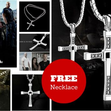 (SPECIAL FREE Fast & Furious Vin Diesel (Aka Dominic Toretto) Pendant & Necklace - $5.49 is the shipping price)