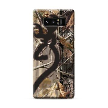Love Browning Deer Camo Real Tree Couple Samsung Galaxy Note 8 case