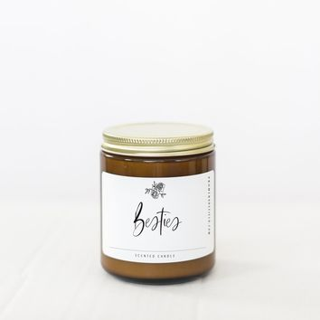 "PROMENADE FIELD ""BESTIES"" CANDLE"