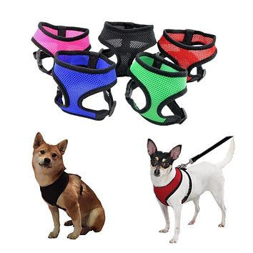 Soft Breathable PupDefender® Nylon Mesh Vest Harness for Dogs & Cats