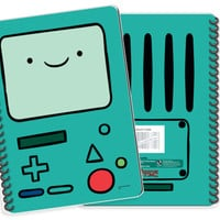 Adventure Time A5 Notebook: Beemo