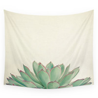 Society6 Echeveria Wall Tapestry