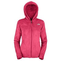 Women's The North Face Oso Hoodie Jacket Teaberry Pink Size Large
