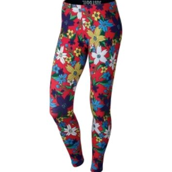 Nike Women's Leg-A-See Hawaiian Printed Tights | DICK'S Sporting Goods