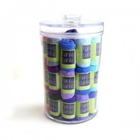 30 Pack Low Rise Thongs in Lucite Jar