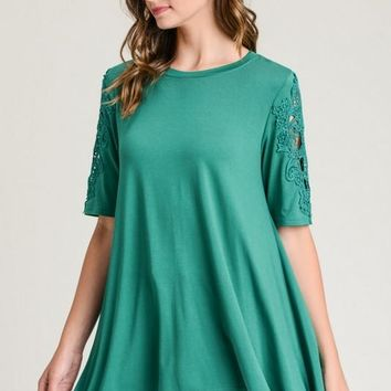 Lucky In Lace Tunic