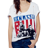 T-shirt with the Clash Band Print