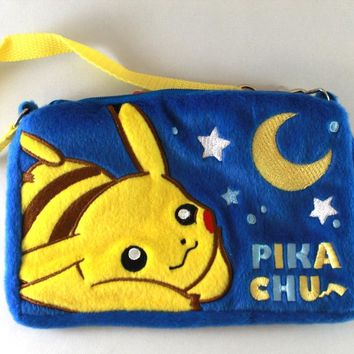 Pokemon XY&Z - Pikachu Blue Pouch