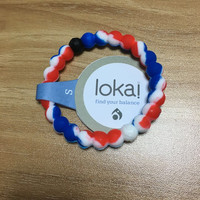 Shopnelo New Arrival Lokai Bracelet On SALE  (Blue & Red N White  color )